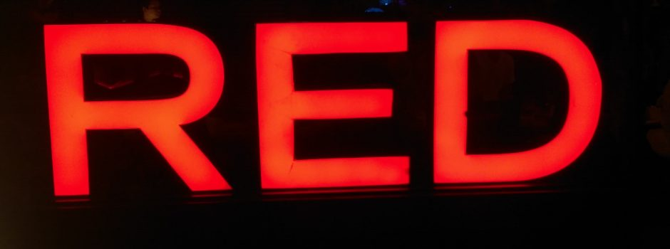 Red light Hamburg